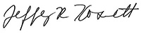 Jeff Kosnett signature